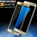 Original Imak Full screen tempered glass film For Samsung Galaxy S7 edge 3D curved full coverage full protection Anti-crack