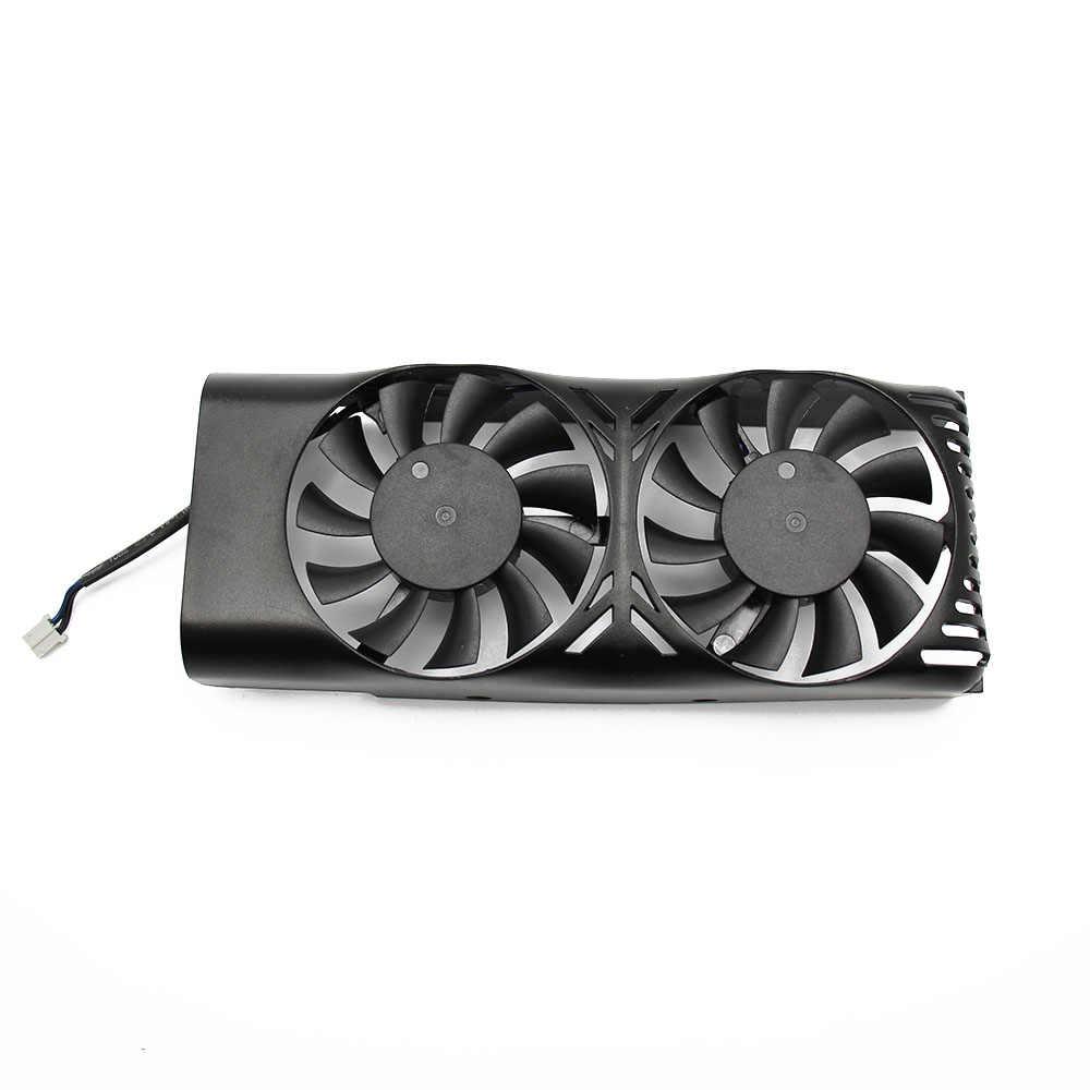 Graphics Card Fans HA5510M12F-Z 0.20A 2Pin 2Lines GPU Cooler for MSI GTX 1050 2GT LP GTX 1050Ti 4GT LPV1 Video VGA Cards Cooling