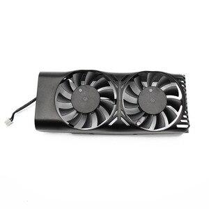Image 2 - HA5510M12F Z 0.20A 2Pin GTX1050 Ti GPU wentylator chłodnicy dla MSI geforce GTX 1050 2GT LP GTX 1050Ti 4GT LPV1 karty graficznej chłodzenia