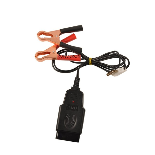 범용 자동차 배터리 교체 수리 도구 obd2 obd ii 진단 커넥터 케이블 1.1 미터 클립 클램프 전원 끄기 메모리 보호기
