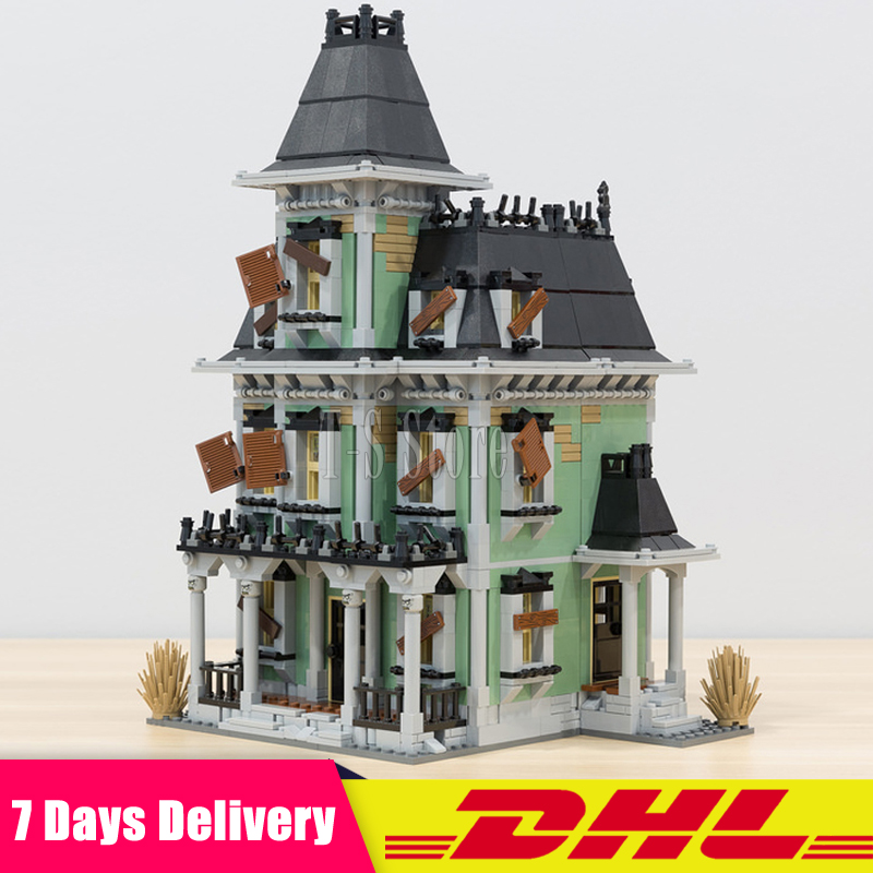 Clone 10228 DHL IN Stock LEPIN 16007 2141Pcs Monster Fighter The Haunted House Building Blocks Bricks Figures Set Gift Toys dhl new lepin 06039 1351pcs ninja samurai x desert cave chaos nya lloyd pythor building bricks blocks toys compatible 70596