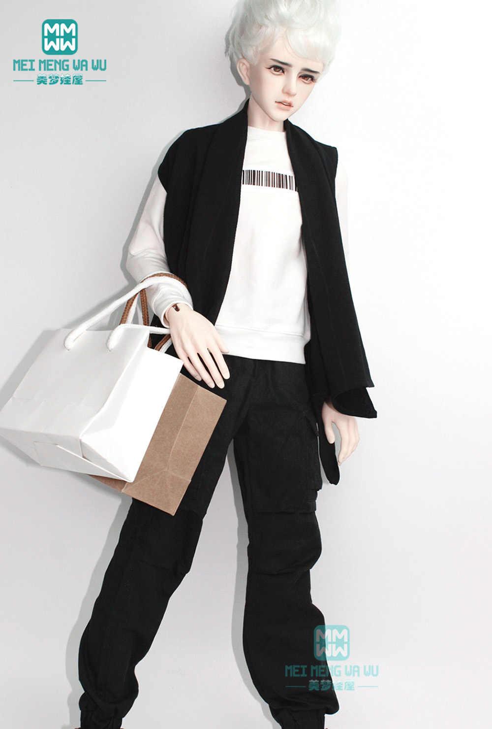 BJD аксессуары, кукольная одежда для 65-72 см, BJD uncle, модная повседневная футболка с надписью, повседневные штаны