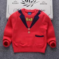 ANNUNCIO del bambino del Cotone Del Bambino Del Bambino Dei Ragazzi Maglie e Maglioni Inverno Bambini Autunno Abbigliamento Tirare Su abbigliamento Per Bambini