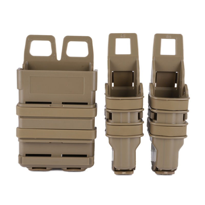 Tactical 5.56mm M4 M16 FastMag Pistol Magazine Pouch Molle Clip Military Airsoft Shooting Hunting AK AR Fast Mag Holster