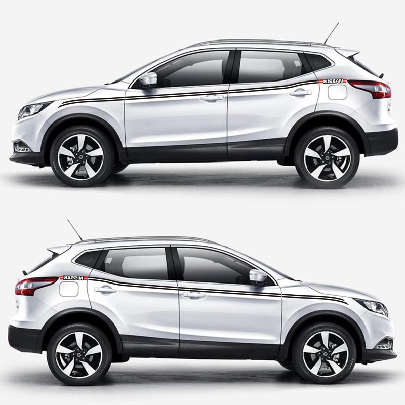 TAIYAO car styling sport car sticker For Nissan QASHQAI SPORT car accessories and decals auto sticker
