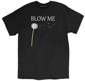 9286568ba GILDAN Blow Me Flower Funny Offensive Pun Unisex T Shirt