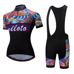 Image 2 - MILOTO Women Cycling Sets Summer cycling jersey set Road Bicycle Jerseys MTB bike Wear Breathable Cycling Clothing велосипед
