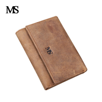 MS Brand men wallets dollar price purse Genuine leather wallet card holder designer mini wallet high quality TW1632 1