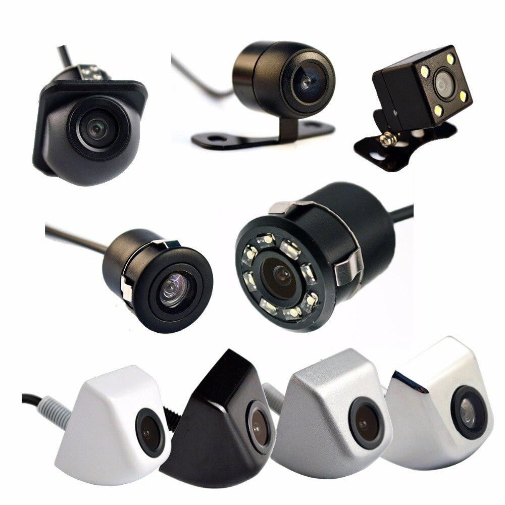 Auto Rückfahrkamera 4 LED Nachtsicht Rückfahr Auto Parkplatz Monitor CCD Wasserdichte 170 Grad HD Video