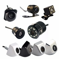 170 Degree 4 LED Night Vision Car Rear View Camera HD Video Waterproof Auto Parking Monitor