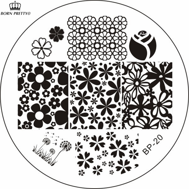 Popular Nail Stamp Templates Buy Cheap Nail Stamp Templates Lots