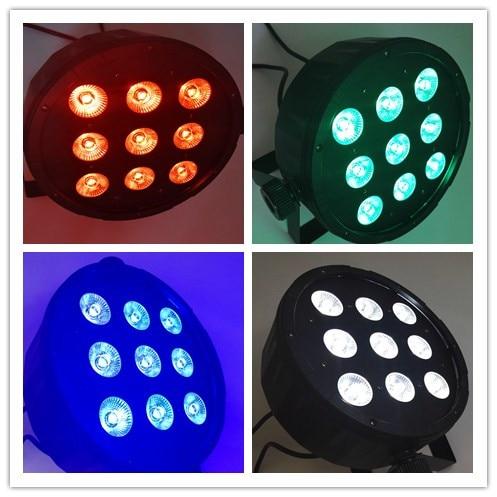 ФОТО 9x4w 4 in1 led Par Light / Wedding LED Par Light / Projection Light Wedding KTV Bar / Stage Lighting Equipment/9X4W LED PAR