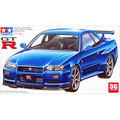 Tamiya scale models 24210 1/24 scale car  sports car GT-R(R34)  plastic assembly model building scale car model kits