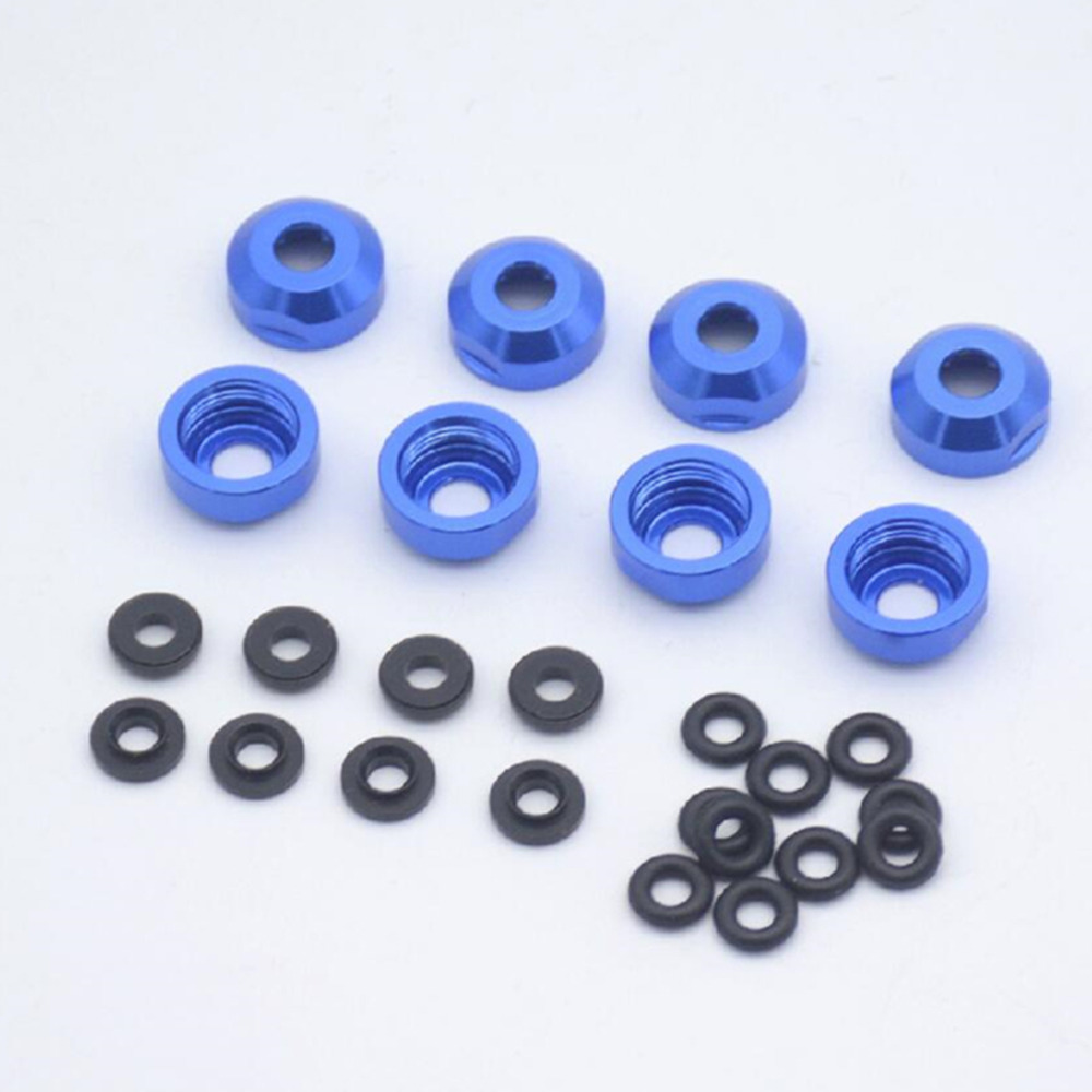 Shock Absorbers Damper Metal Under Cover Oil Leakage Prevention Replacement Kit For 1/7 Traxxas UDR RC Car Parts Accessories