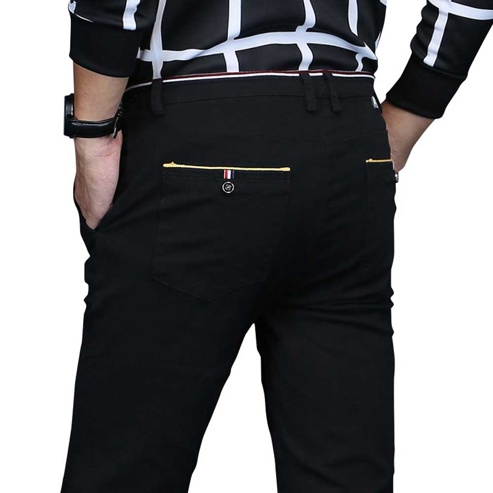 Casual Khaki Pants Mens Hight Quality Business Long Pant 1