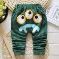 2016 Nova Primavera & Outono calças do bebê 4 cores de Algodão padrão de estrela crianças calças do bebê calças de menino menina