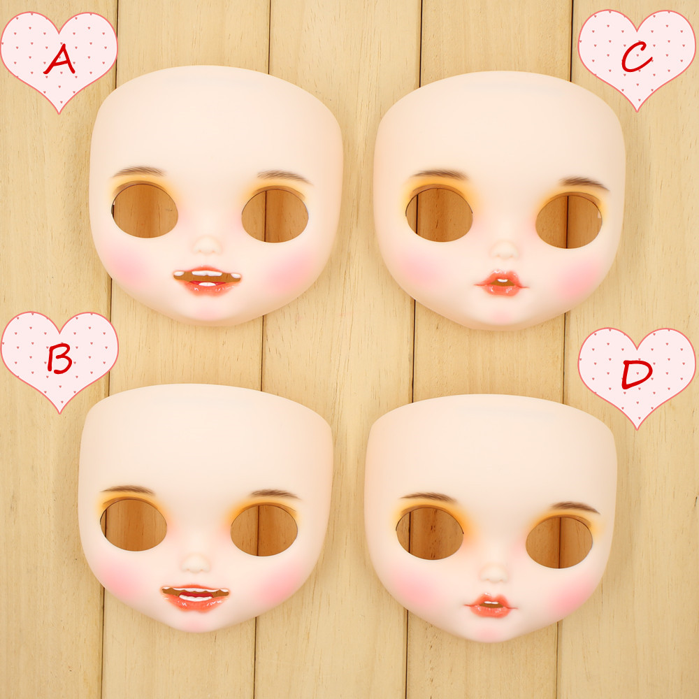 ICY Fortune Days Blyth doll New toothed matte face White skin hand painted faceplate Custom makeup