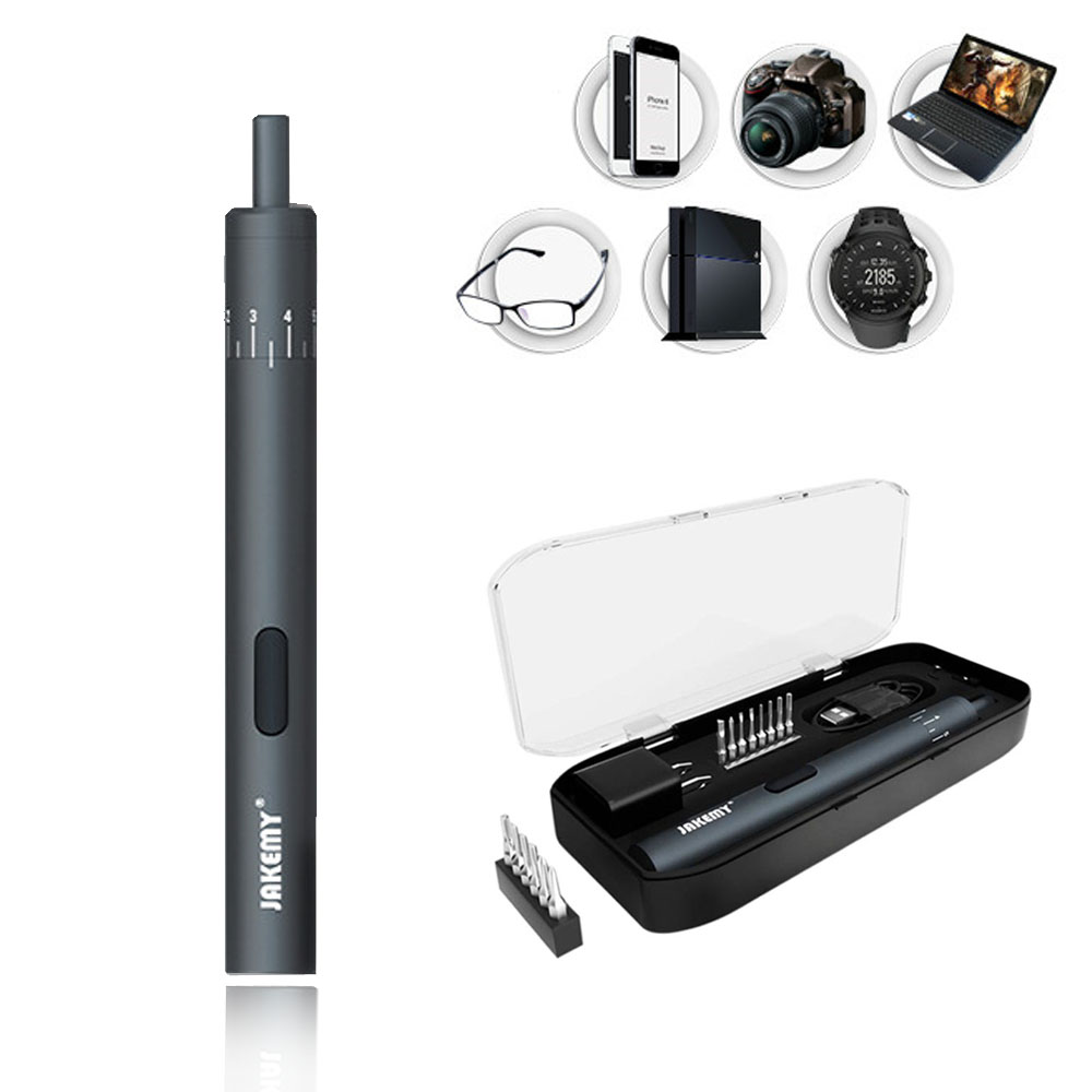 New 18 in1Electric Power Screwdriver Magnetic Precision Screwdriver Repair Tool Kit iPhone, Watch Camera,Electric Device Repair
