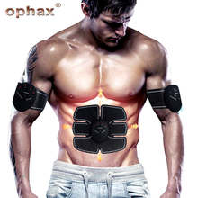 OPHAX Wireless Stimulator Musuh EMS Stimulation Body Slimming Machine Otot Perut Latihan Latihan Peranti Badan Massager