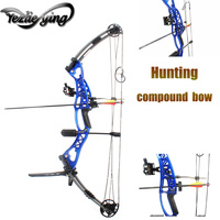 High Quality 40 60lbs Aluminium Alloy Pulley Compound Bow Adult Hunter Outdoor Crossbow Hunting Shooting Compound Bow