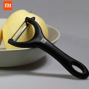 Image 5 - Youpin Huohou kavun ve meyve soyucu paslanmaz çelik meyve soyucu çok fonksiyonlu planya bıçağı mutfak ev için