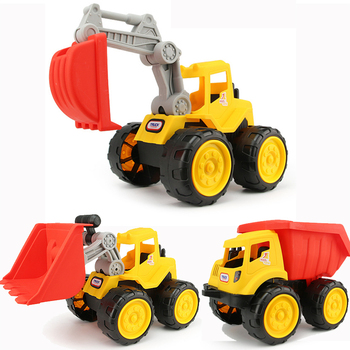 Big size Beach toy cars Engineering car vehicles truck excavator bulldozer model toys Classic Play house Toys kids Boy toys