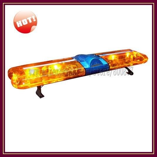 TBD-GA-02122A Rotating Lightbar + 100W siren + 100W speaker, DC12V,  Power 230W, PC Lens & Aluminium Base, Quality Halogen Lamps