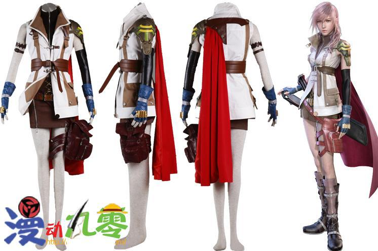 final fantasy xiii lightning cosplay costume halloween costumes high quality in anime costumes from novelty special use on aliexpresscom alibaba group