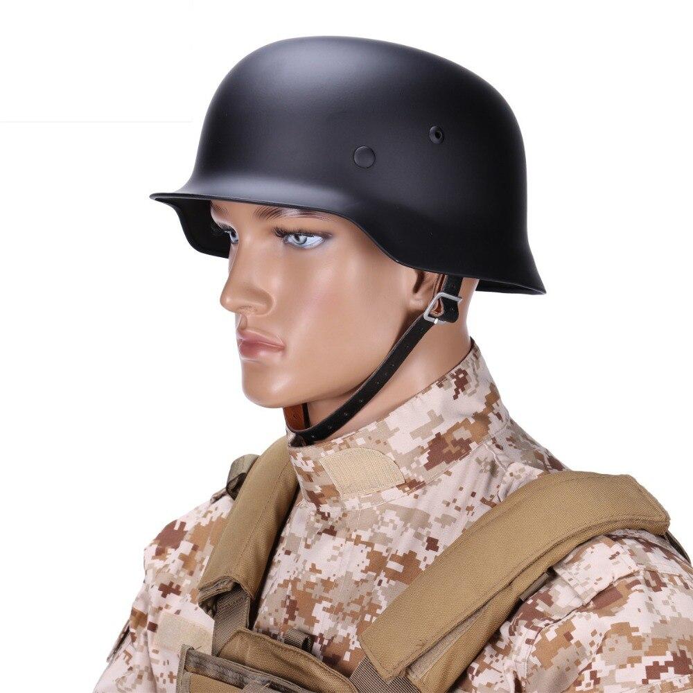M35 Safety Helmet WW2 World German Steel Helmet Field operations Tactical helmet Motorcycle Safety Cap