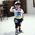 Miúdos novos conjuntos de roupas meninos crianças ternos do bebê t camisa e calças conjuntos de roupas para crianças crianças outfit 2-7a