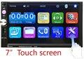 """Venda quente 2 DIN 7 """"polegadas HD Rádio Do Carro MP5 Player In Dash Touch Screen Bluetooth Stereo MP3 MP5 Player de Alta Qualidade"""