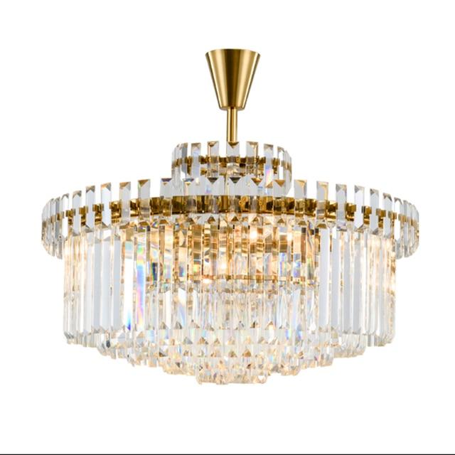 Postmodernen Luxuriöse Kronleuchter Für Wohnzimmer Schlafzimmer Lamparas  Gold Farbe Kronleuchter Led Luminaria K9 Kristall Leuchte Lampe