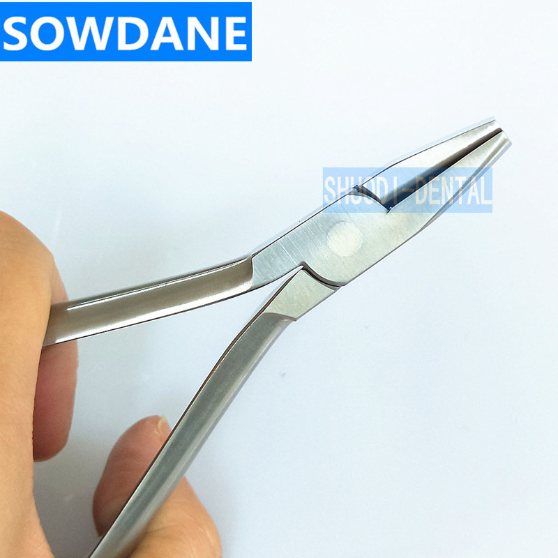 Dental Orthodontic Arch Forming Plier Stainless Steel For Round and Rectangular Wire up to 0 021 0 028 inch