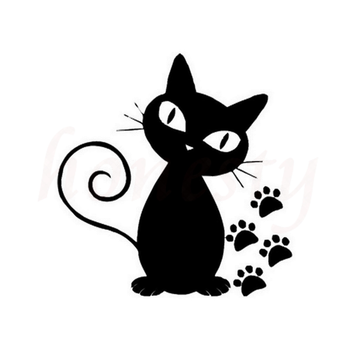 Evil Cat Video Glass