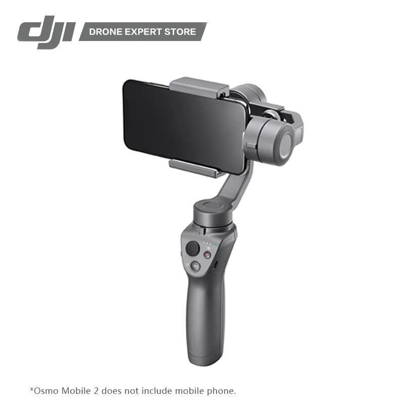 DJI Osmo Mobile 2 Handheld Gimbal 3-Axis Gimbal Stabilizzatore per il iphone 8X Samsung Huawei Xiaomi di Ripresa Video liscio