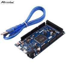 Miroad Devido Sam3x8e Robot para Arduino Duemilanove UNO Mega2560 R3 + Cabo USB Livre/devido d