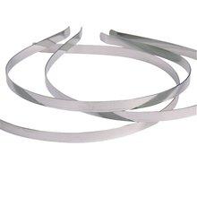 Горячие 10 шт. ободки для волос без декора металлический ободок для волос много DIY аксессуары