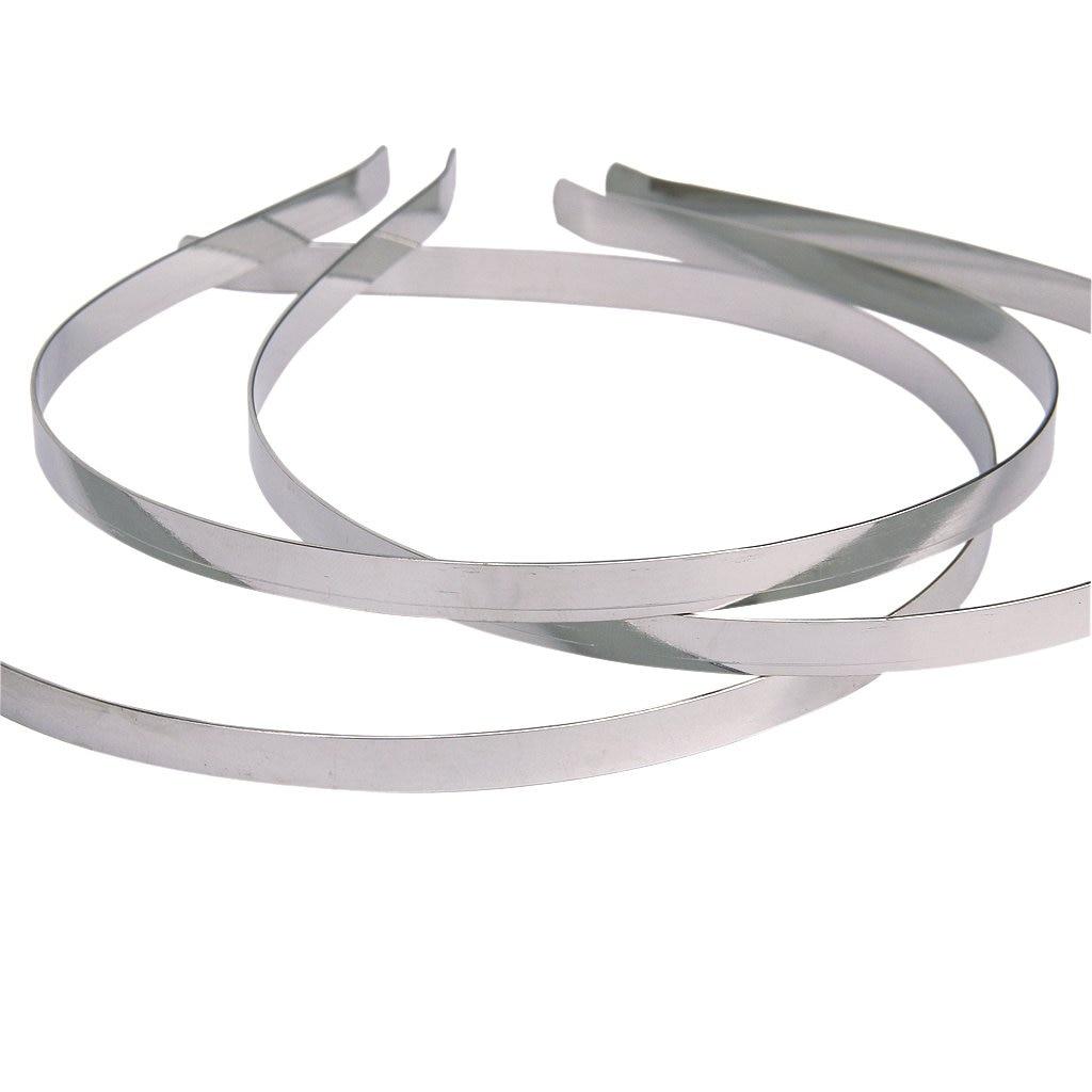 HOT 10Pcs Blank Headbands Metal Hair Band Lots DIY Accessories