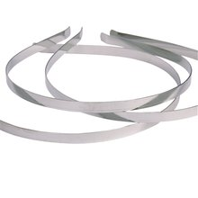 HOT 10Pcs Blank Headbands Metal Hair Band Lots DIY Accessories