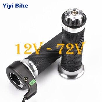 Bicicleta eléctrica, acelerador de giro, 12 V-72 V, para Bicicleta eléctrica, Scooter,...