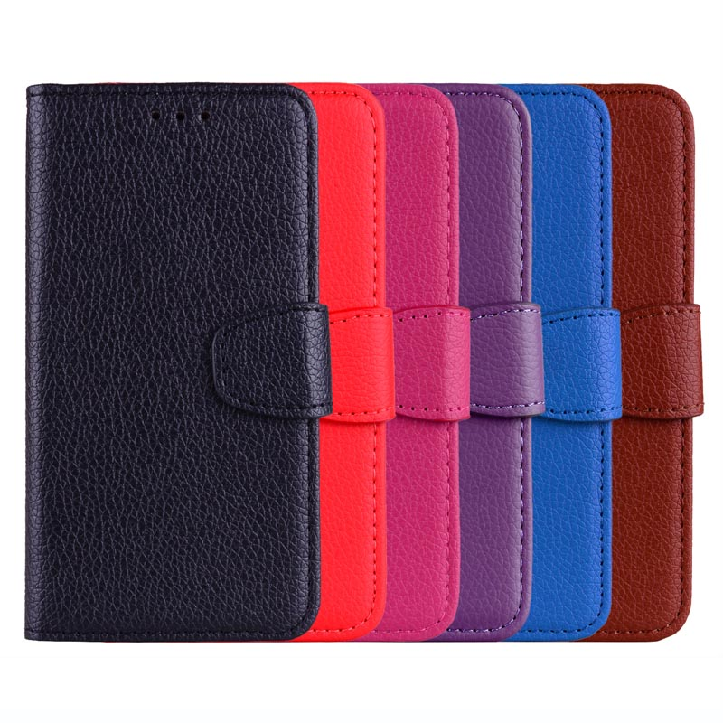 Retro Litchi Case for HTC One M7 M8 M9 M10 Leather Wallet Flip Cover Coque for HTC Desire D 626 820 530 630 628 Phone Cases