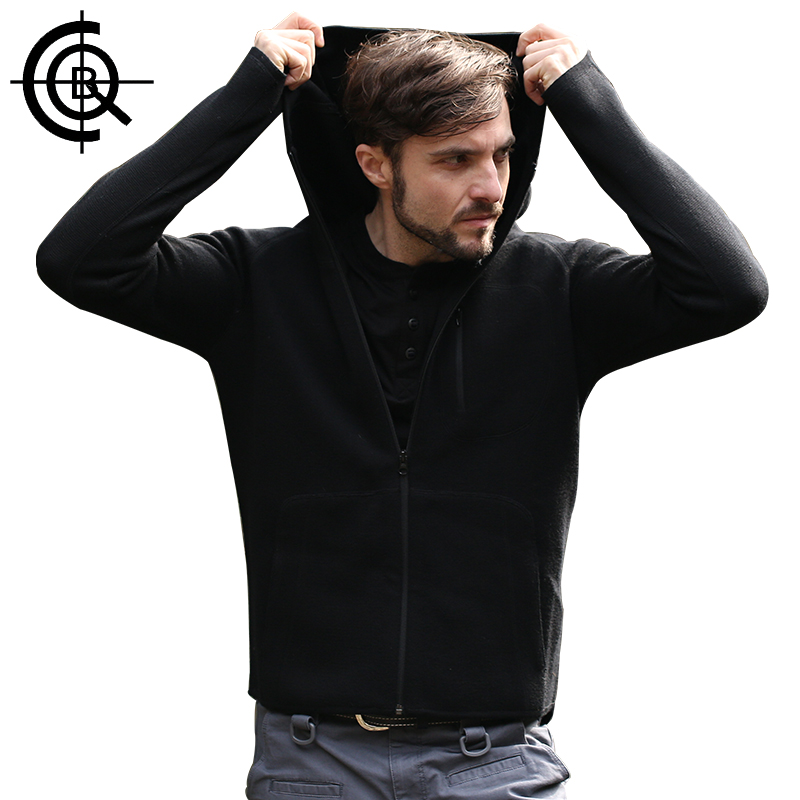 CQB Outdoor Fleece Jackets  Wool Men Warm Thermal Clothes Hiking Breathable Jacket Brand Windproof Camping Coat LYF0025 2 pieces winter thermal waterproof camping jackets outdoor quick dry breathable hiking jacket men women clothes windbreaker 8029