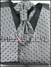 dress/Bridal Tuxedos man's polyester fashion dot waistcoat 4pcs