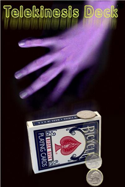 Free Shipping Telekinesis Deck - Card Magic Tricks,Stage,Close up,Accessories,Mentalism,Comedy,Party Magic free shipping eclipse mentalism magic magic trick stage magic props close upmagic mentalism comedy