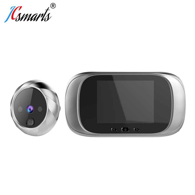 Smart Electronic Deurbel Camera Video Peephole On Door Mirilla Digital Puerta Door Viewer With IR Leds