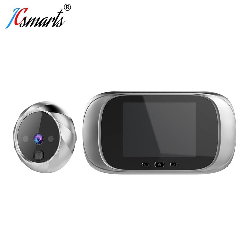 Smart Electronic Deurbel Camera Video Peephole On Door Mirilla Digital Puerta Door Viewer With IR Leds