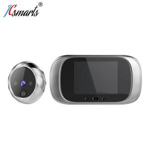 Image 1 - Smart Elektronische deurbel Kamera Video Guckloch Auf Tür Mirilla Digitale Puerta Tür Viewer Mit IR Leds