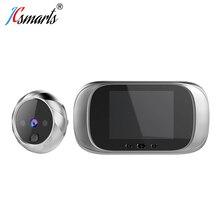 Умная Электронная камера deurbel, видеоглазок на дверь Mirilla, цифровой дверной глазок с ИК светодиодами
