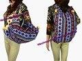 Mul-use Tribal Vintage Hmong Thai Indian Ethnic Boho shoulder bag Boho hippie ethnic bag, backpack bag bells SYS-028N.