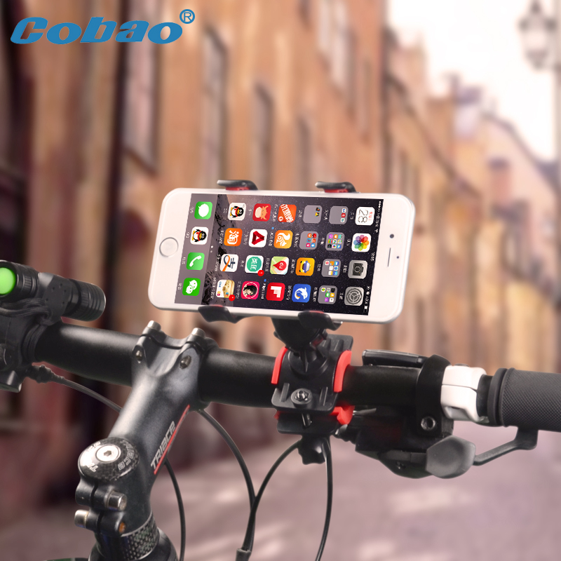 Bicycle Accessaries Bike Mobile Phone Holder for iPhone 7 plus 6S 6 5S SE 5 Handlebar Clip Bracket GPS Cellphone Mount Support